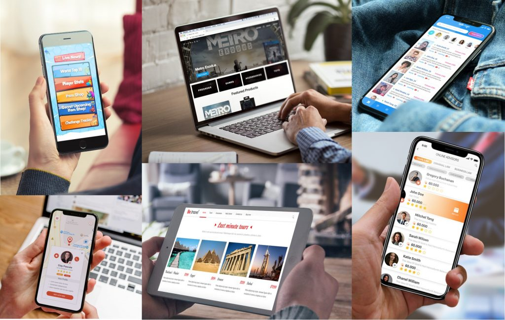 inapps web mobile app development solutions
