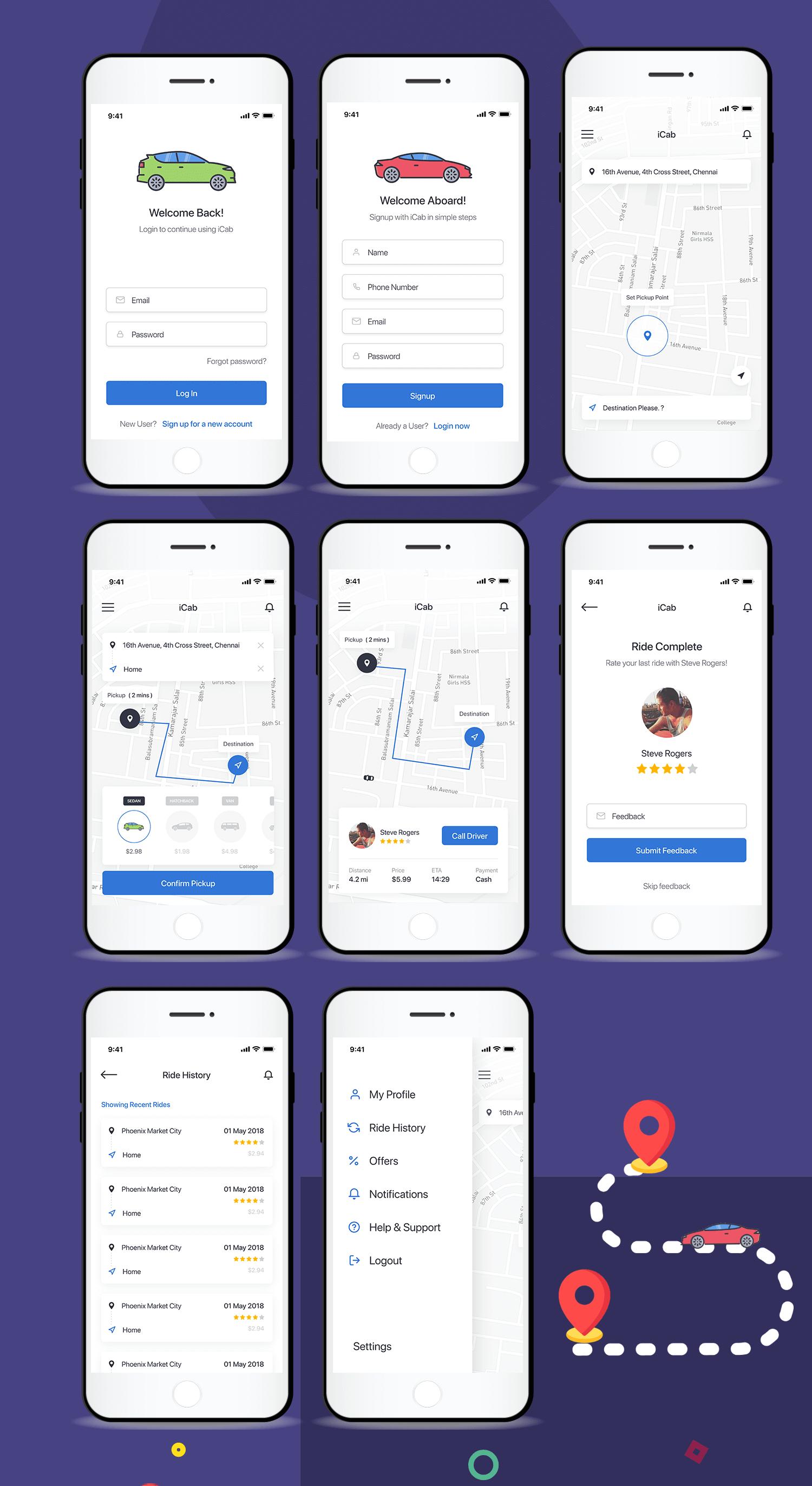mobile-car-booking-app