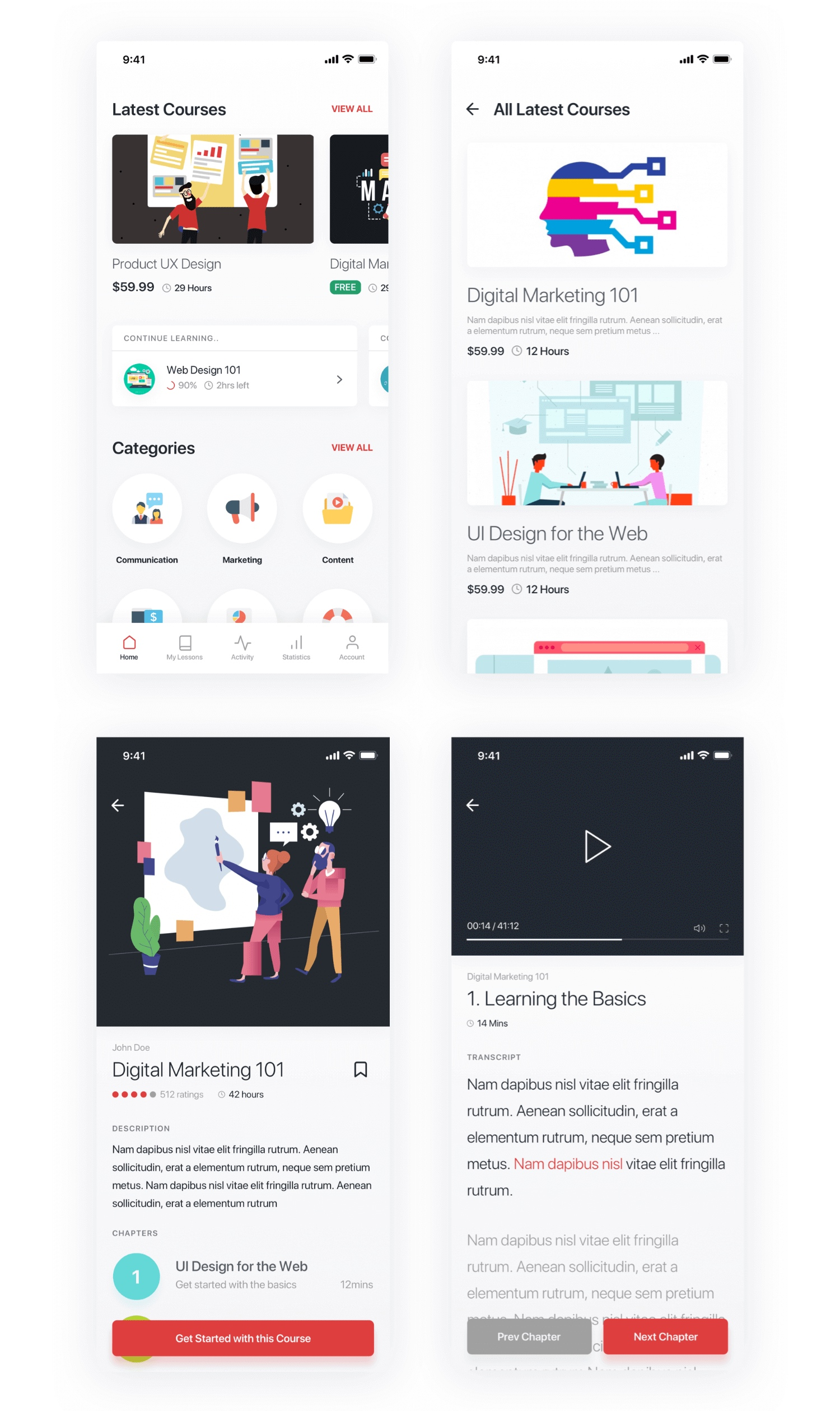 online-course-app